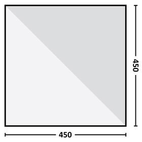 Eureka! Parawing - 450 x 450 cm beige